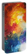 Deep Space Canvas One Portable Battery Charger