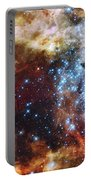 Deep Space Fire And Ice  Portable Battery Charger