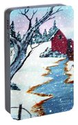 Deer At The Grist Mill Portable Battery Charger