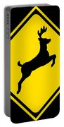 Deer Crossing Sign Portable Battery Charger