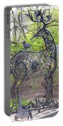 Deer Sculpture Portable Battery Charger