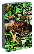 Deer's Green Day Portable Battery Charger