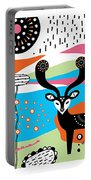 Deery Me Portable Battery Charger by Susan Claire