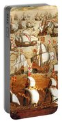 Defeat Of The Spanish Armada 1588 Portable Battery Charger