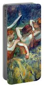 Degas' Four Dancers Up Close Portable Battery Charger