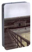 Del Monte Bathhouse From Pier California  Circa 1890 Portable Battery Charger