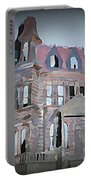 Delapitated Victorian Mansion Portable Battery Charger