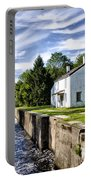 Delaware Canal Kingston New Jersey Portable Battery Charger