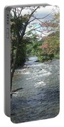 Delhi Rapids From The Bridge Portable Battery Charger
