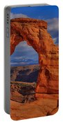 Delicate Arch View Portable Battery Charger by Greg Norrell