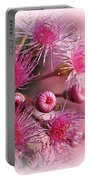 Delicate Buds And Blossoms Portable Battery Charger