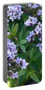 Delicate Flowers 3 Portable Battery Charger