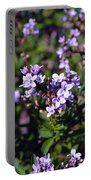 Delicate Flowers  Portable Battery Charger