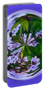 Delicate Flowers Orb Portable Battery Charger
