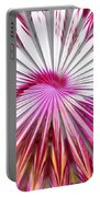 Delicate Orchid Blossom - Abstract Portable Battery Charger