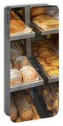 Delicious Pastries In Brussels Portable Battery Charger