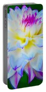 Delightful Dahlia Portable Battery Charger