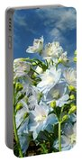 Delphinium Sky Original Portable Battery Charger
