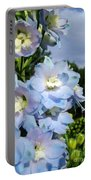 Delphinium With Cloud Portable Battery Charger