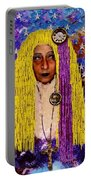 Demonica Vintage Goth Portable Battery Charger