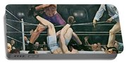 Dempsey V Firpo In New York City Portable Battery Charger