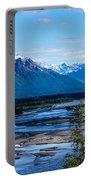 Denali Mountain Range Portable Battery Charger