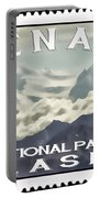 Denali Postage Stamp  Portable Battery Charger