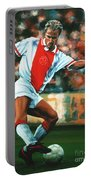Dennis Bergkamp 2 Portable Battery Charger by Paul Meijering