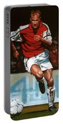 Dennis Bergkamp Portable Battery Charger by Paul Meijering