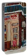 Depanneur Kik Cola Montreal Portable Battery Charger