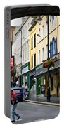 Derry Life - Irish Art By Charlie Brock Portable Battery Charger