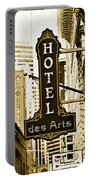 Art Hotel Portable Battery Charger