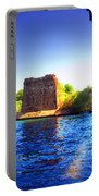Deschutes Bridge  Anderson Ca  Watercolor   Portable Battery Charger
