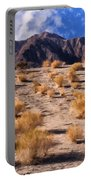 Desert Light And Shadow Portable Battery Charger