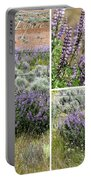 Desert Lupine Collage Portable Battery Charger