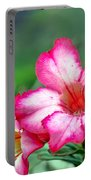 Desert Rose At Kualoa Portable Battery Charger