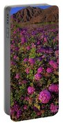 Desert Sand Verbena Wildflowers Portable Battery Charger