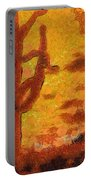 Desert Sunset Photo Art 04 Portable Battery Charger