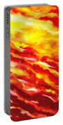 Desert Wind Abstract I Portable Battery Charger