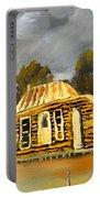 Deserted Castlemain Farmhouse Portable Battery Charger