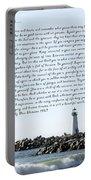 Desiderata Santa Cruz Lighthouse Portable Battery Charger