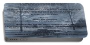 Desiderata Winter Scene Portable Battery Charger