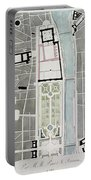 Design For Joining The Tuileries To The Louvre, 1808 Wc On Paper Portable Battery Charger