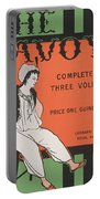 Design For The Front Cover Of 'the Savoy Complete In Three Volumes' Portable Battery Charger