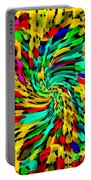 Designer Phone Case Art Colorful Rich And Bold Abstracts Cell Phone Covers Carole Spandau Cbs Art136 Portable Battery Charger by Carole Spandau