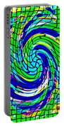 Designer Phone Case Art Colorful Rich Bold Abstracts Cell Phone Covers Carole Spandau Cbs Art 137   Portable Battery Charger