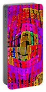 Designer Phone Case Art Colorful Rich Bold Abstracts Cell Phone Covers Carole Spandau Cbs Art 138 Portable Battery Charger