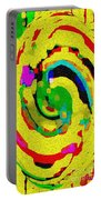 Designer Phone Case Art Colorful Rich Bold Abstracts Cell Phone Covers Carole Spandau Cbs Art 139  Portable Battery Charger