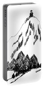 Desolation Peak_alone Time Portable Battery Charger
