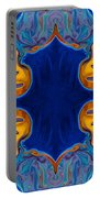 Destiny Unfolding Into An Abstract Pattern Portable Battery Charger